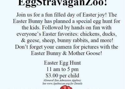 Join us this Saturday for Easter EggStravaganZoo! Don't forget your_33863975661_l